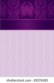 Decorative Pattern and Frame template