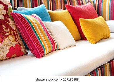Decorative pillow natural Fabric