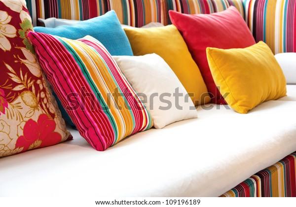 Decorative pillow natural Fabric