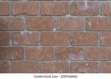 Decorative red stone wall, nice color background