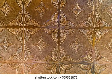 decorative tin tile metallic of wall covering