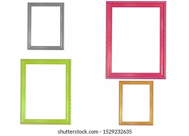 Decorative vintage frames order design is pattern Thai art style
