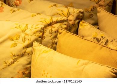 decorative vintage pillows