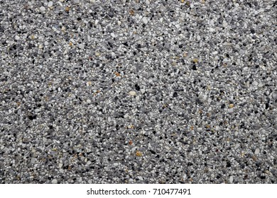 Decorative wall with beautiful fine black and white stone ,Concrete stone wall texture for background and wallpaper