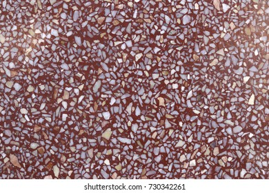 Decorative wall with beautiful red and white stone , Concrete stone wall texture for background and wallpaper