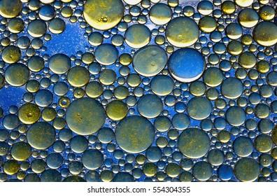 Decorative Water Bubble Background