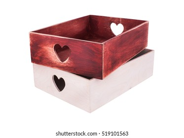 Decorative wine boxes