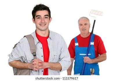 Decorator and his apprentice
