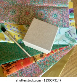 decoupage materials ready for use