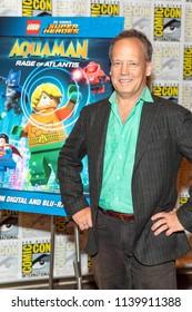 "Dee Bradley Baker attends Comic-Con International San Diego 2018 -DC Super Heroes - ""Aquaman: Rage of Atlantis"" Press Room, San Diego, California on July 22, 2018"