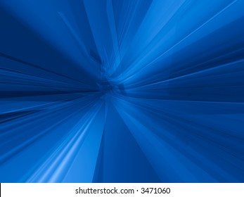 Deep blue action dynamic virtual 3d background