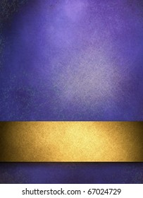 deep blue textured background with highlight, gold strip, and copy space room for adding your own text, title, image, or design layout