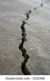 Deep crack in foundation 2