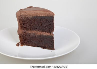 Deep dark chocolate layer cake