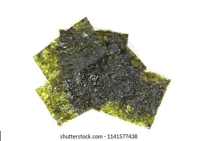 Deep Fried Green Seaweed Thin Chips Crispy Snack