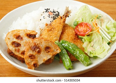deep fried  mackerel,