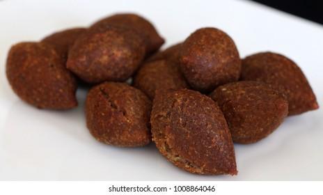deep fried meat kebbeh