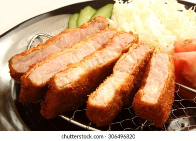 deep fried pork called `tonkatsu`/Tonkatsu
