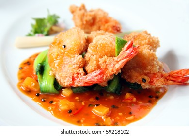 deep fried prawn in japanese breadcrumbs fristo misto