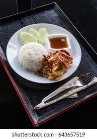 Deep Fried Shrimp with Tamarind Sauce-1