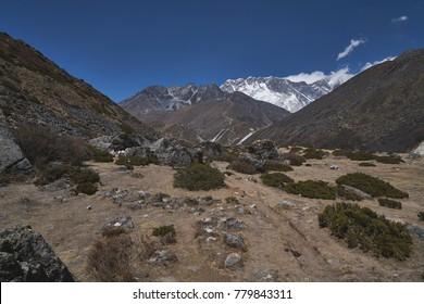 Deep Himalayan valley