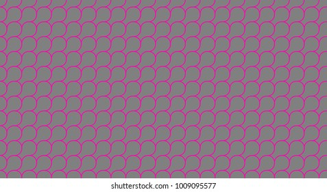 deep pink and grey squama or microbial mat seamless geometric pattern