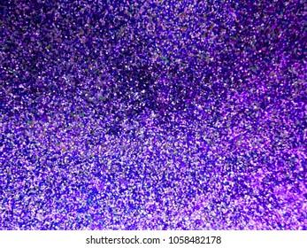 Deep Purple Violet Sparkling Glitter Background Texture