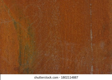 Deep Red Rusty iron or steel texture and surface. Vintage and industrial concept, Rust on metal material with scratch and bumpy surface.