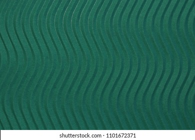 Deep Sea Blue Paper Vertical Waves Texture. Embossed Waves on Detailed Paper Background. Corrugated Wavy Cardboard Backdrop.
