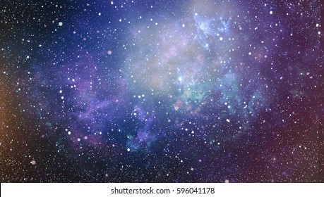 Deep space. High definition star field background . Starry outer space background texture . Colorful Starry Night Sky Outer Space background ,