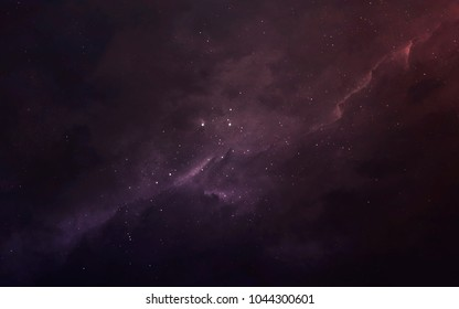 Deep space. Science fiction wallpaper, planets, stars, galaxies and nebulas in awesome cosmic image. Elements of this image furnished by NASA