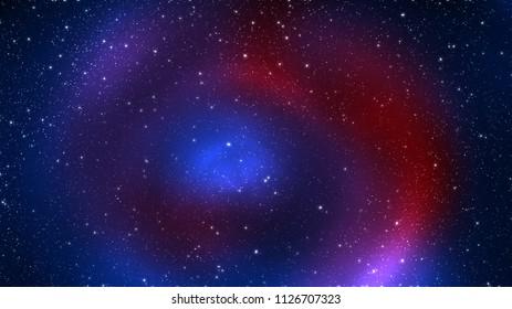Deep space. Star space texture. The Far Galaxy