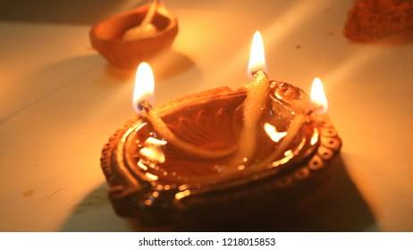 Deepak.Diwali Celebratation in India.