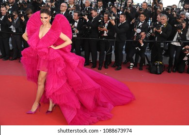 Deepika Padukone attends the screening of 'Ash Is The Purest White (Jiang Hu Er Nv)' during the 71st annual Cannes Film Festival at Palais des Festivals on May 11, 2018 in Cannes, France.