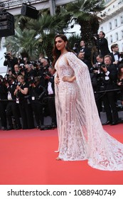 Deepika Padukone attends the screening of 'Sorry Angel' during the 71st annual Cannes Film Festival at Palais des Festivals on May 10, 2018 in Cannes, France.