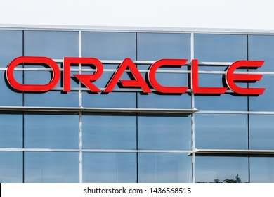 Deerfield - Circa June 2019: Oracle Corporation location. Oracle offers technology and cloud based solutions I