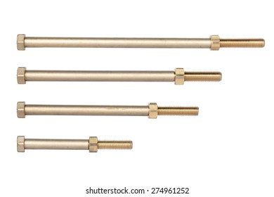 defferent size of brass bolt for fix water pipe