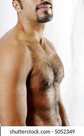 Defined Hairy Chest
