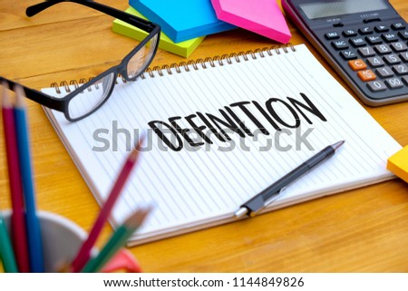 definition word business concep stock photo edit now 1144849826