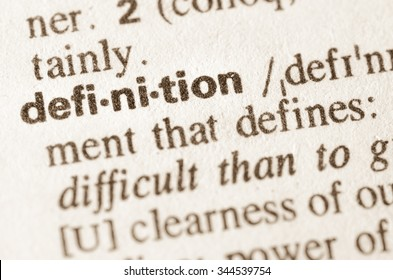 Definition of word definition  in dictionary