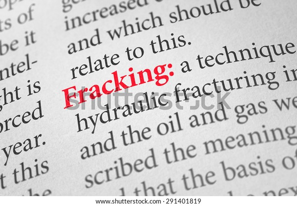 Definition Word Fracking Dictionary Objects Stock Image 291401819