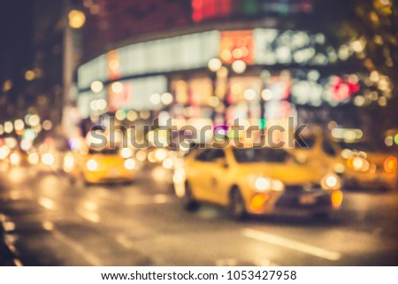 4b3b5af1771c9 Defocus Blur New York City Street Stock Photo (Edit Now) 1053427958 ...