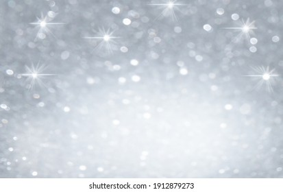 Defocus light gray Background. Abstract Bokeh with blick.