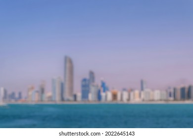 Defocused abstract background of cityscape