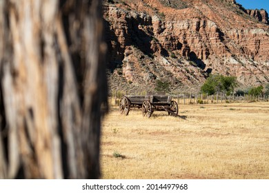 Defocused Desert View in Nevada Camping and Hiking View