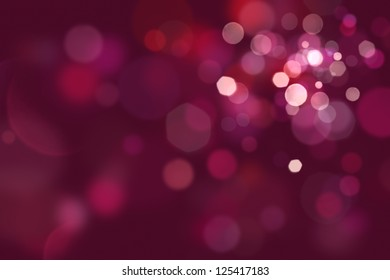 Defocused glittering lights background.