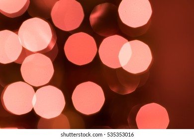Defocused holiday christmas lights background