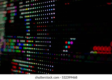 Defocused urban abstract texture background for LED moniter