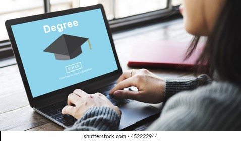 Degree Diploma High School Educational Concept