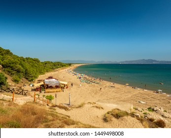 Del Riuet beach, L'escala, Costa Brava, Catalonia, Spain